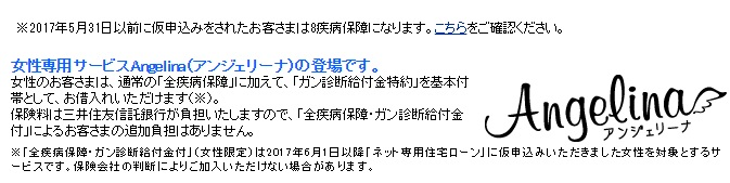 住信SBIネット銀行の住宅ローンの女性限定特典