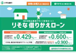 りそな銀行の住宅ローン